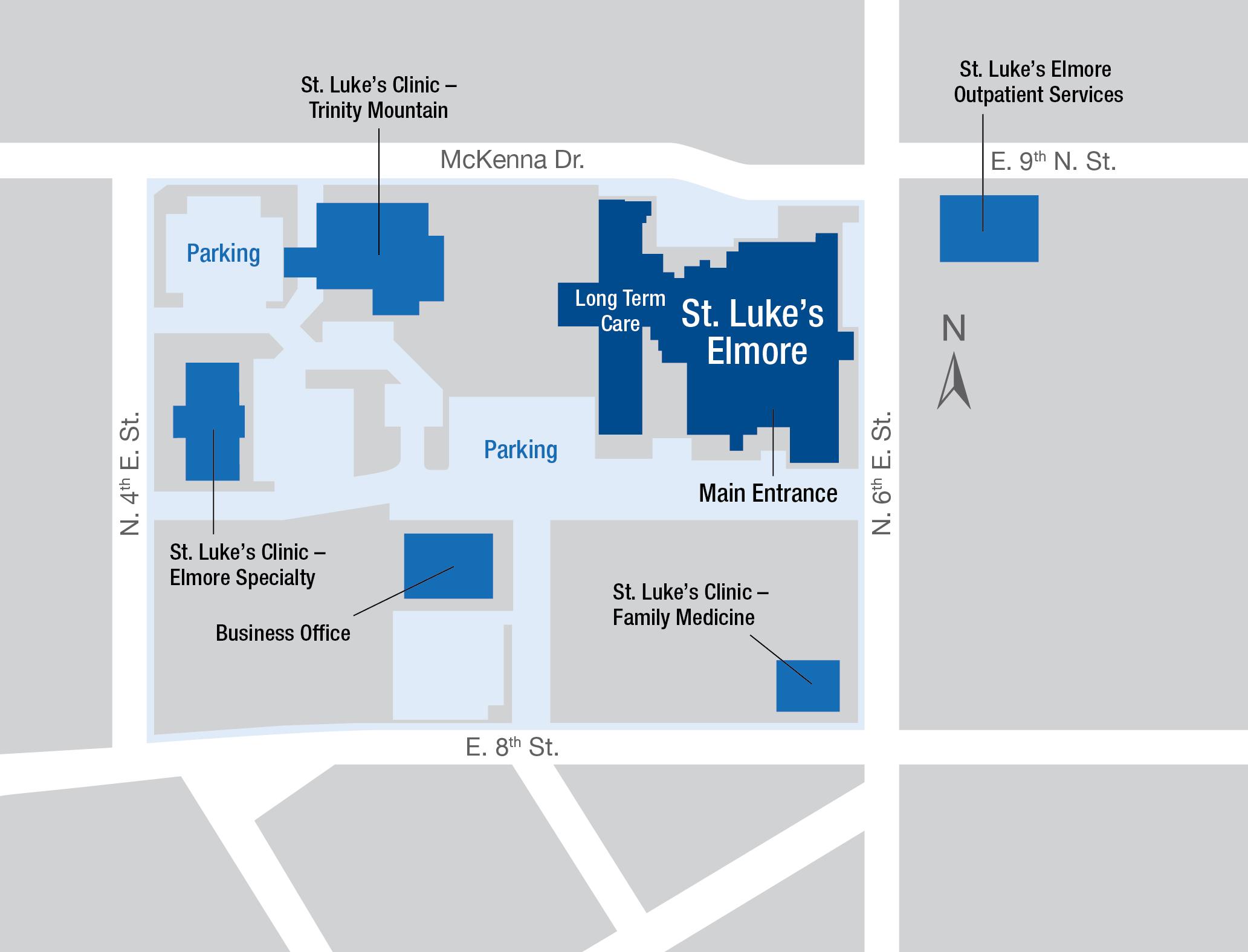 St  Luke's Elmore Medical Center