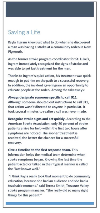 Stroke: Getting the Right Care at the Right Time