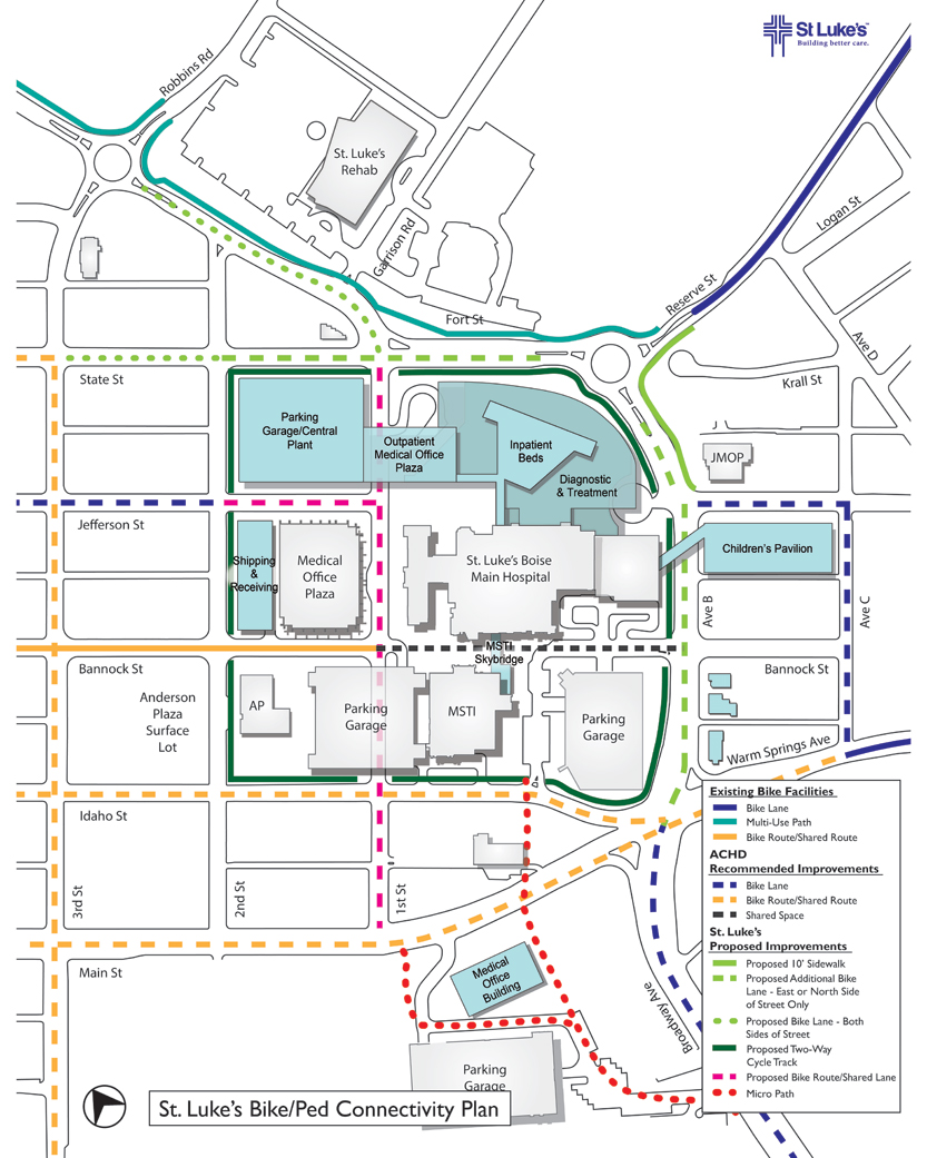 St. Luke\'s Boise Development Plan Overview